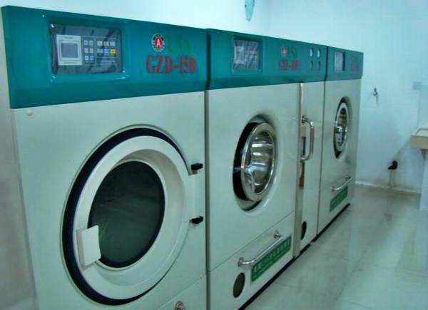 丘比特干洗店设备展示