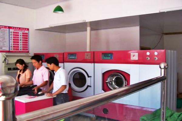 开玫瑰园洗衣店成本要多少钱?三万买设备开店费用低