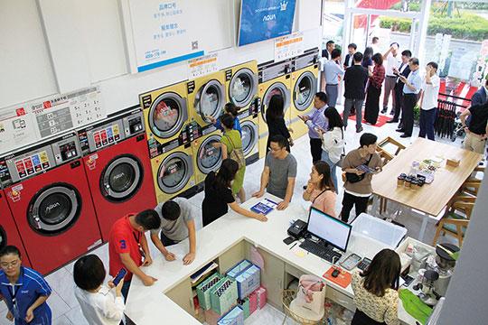 我来洗共享洗衣加盟利润怎么样?店店高人气